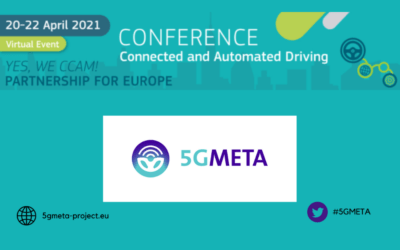 5GMETA participates in the 3rd European Conference on Connected and Automated Driving – EUCAD